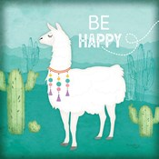 Be Happy Llama