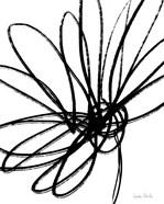 Black Ink Flower II