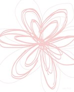 Inky Flower I