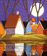 Purple Sky and Stars Cottages