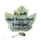 Scripture Leaf - B