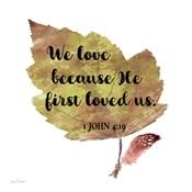 Scripture Leaf - C