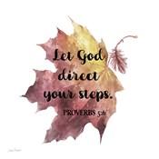 Scripture Leaf - D