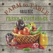 Farm to Table - Fresh Vegetables