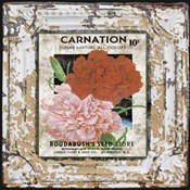 Tin Tile - Carnation