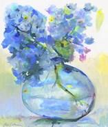Hydrangea In Fish Bowl