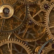 Copper Cogs Close up 2