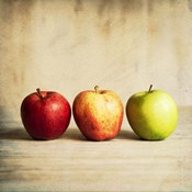Row Of Antique Fruit