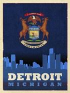 Detroit City Flag