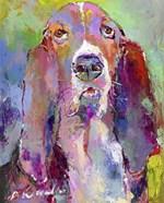 Art Basset Hound