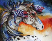 Appaloosa Indian War Horse