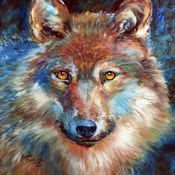 Timber Wolf Abstract