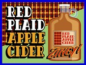 Apple Cider Crate Label