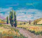 Poplars Country Path