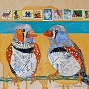 Zebra Finch Lovebirds #4