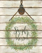 Simply Blessed Wreath