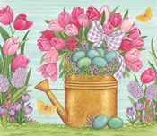 Tulips and Blue Eggs