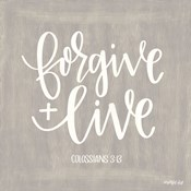 Forgive & Live