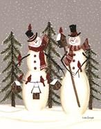 Snowy Day Snowmen