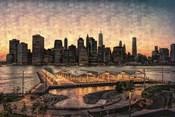 Lower Manhattan at Twilight