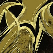 Abstract Black & Gold 1