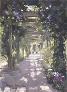 Pergola Violet Watercolor
