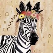Klimt Zebra I