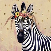 Klimt Zebra II
