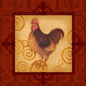 Decorative Rooster III