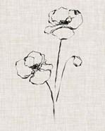 Floral Ink Study III