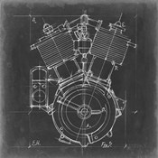 Motorcycle Engine Blueprint IV