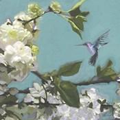 Hummingbird Florals I