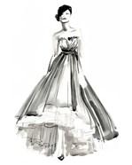 Gestural Evening Gown II