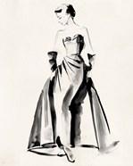Vintage Costume Sketch I