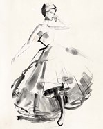 Vintage Costume Sketch II