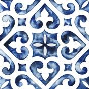 Cobalt Tile VI