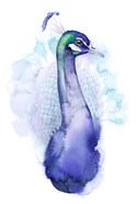Bejeweled Peacock I