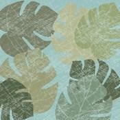 Faded Tropical Leaves II