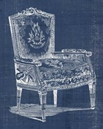 Antique Chair Blueprint I