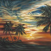 Stunning Tropical Sunset I