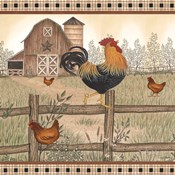 Rustic Farm Rooster