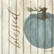 Blessed Blue Pumpkin