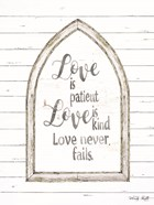 Love is Patient Arch
