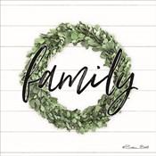 Family Boxwood Wreath