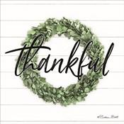 Thankful Boxwood Wreath