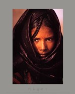 luc Manaud - Young Tuareg Woman, Niger