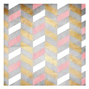 Gold Silver Pink Pattern