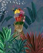 Leopard with Headdress