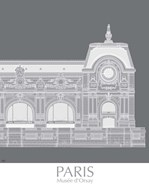 Paris Musee Dorsay Monochrome
