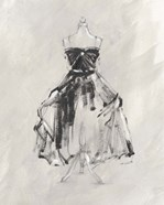 Black Evening Gown I